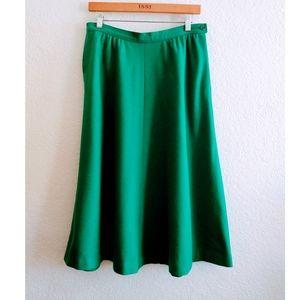 Pendleton Vintage Wool Skirt Size 14